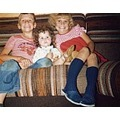 Me again with my brother Carl and sister Michelle. Don't we make a lovely trio!!!!