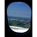 city Moscow window plane air
