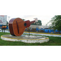 "BARINAS CITY,  ""CUATRO"" SCUPTURE.