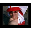 me boy man portrait self smile flag england euros somerset uk carl
