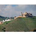 Moorish Castle Alora green hills home Andalucia Spain