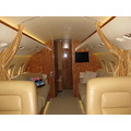 This is the inside of a private airplane. The rent of this plane is 6000 euros per hour..hehehe. ...