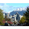 snow mountains vancouver