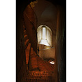 Spiral stairs Hedingham Castle