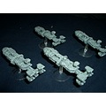 SF science fiction starship troopers film mini model spaceship
