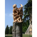 Pershore England tree art sculpture TomHarvey