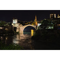 Parens Mostar Old bridge night