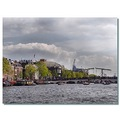 netherlands amsterdam view river amstel nethx amstx viewn waten bridx