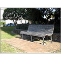seat bench park rest seating wooden