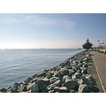 oakportfph oakland port harbor park shoreline walkway bay view horizon