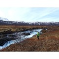 Nature River Iceland Bruara