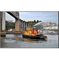tug boat tamar bridge cornwall