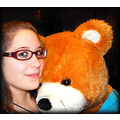 bear girl smile photoshop