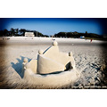 califfoto beach sand castle cape cod nature canon digital 30D