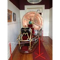 Mmm maybe I could take a trip on this time machine that was part of the exhibite for the Oamaru V...