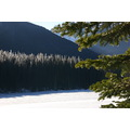 Lake Winter Cold Manning BC Canada