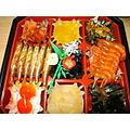 New Year food that we call Oshechi traditional food in Japan