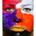 colors face paint MultiColorFriday2