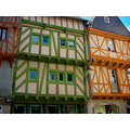 city vannes france houses innercity