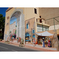 illusionfriday carces provence mural