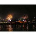 We went and watched the fireworks for the opening of the Rugby World Cup.  We were at the naval b...