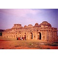 The Remains of the ElephantStables at Hampi