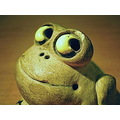 This little frog ornament has been a paperweight on my office desk for many years !