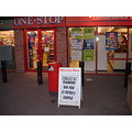 wedding anniversary newspaper shop placard