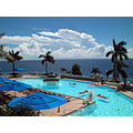 refreshing st thomas us virgin islands marriott pool water blue ocean color