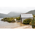 boatshed lake mountain mist