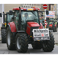dairy farmers protest in brussel