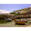 Cornwall Harbour Coast Sea Boat Boats