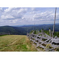 Giant mountains Krkonose august downhill