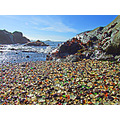 Balmy Glass Beach B, November 14, 2008 - Glass Beach- historically, there were three town dumps a...