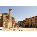 Spain Siguenza Plaza Mayor Catedral