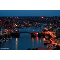 whitby at night
