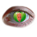 photoshop eye apple