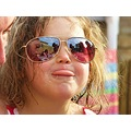 girl portrait sunglasses