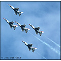 stlouis missouri us usa SAFB sport air show F16 jet Thunderbirds sky 091208 2008