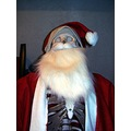 santa dead skeleton christmas