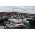 england whitby boats architecture landscape