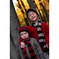 boys tree portrait fall happy sad laugh