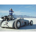 CAR SPEED SALTFLATS BONNEVILLE RACINGCAR