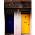 Doors Yellow Blue