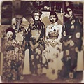 japan portrait poeple in masks fun sepia keitology