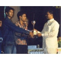 football ball prize bindu phani stage karshak