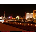 backdoor Stadt Nacht city strip night Vegas Las