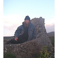 "me at the ""picture rock"" alaska"