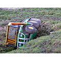 crash farmvehicle johndeere