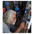 painter artist elderly